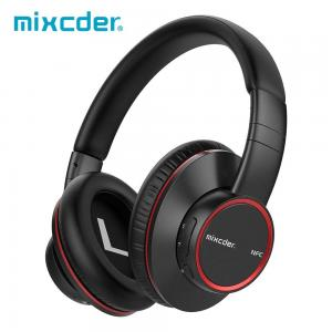 China Ausdom Mixcder NEW 2018 Hot Sale On Ear NFC Apt-X Low Latency Handsfree Deep Bass Headband Bluetooth Headphones With Mic on sale