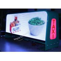 China High Brightness LED Taxi Sign For Advertising Windows XP / Vista / Win7 Software on sale