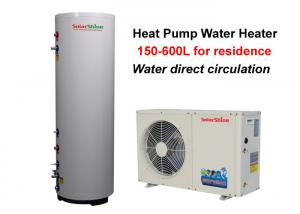 China Residential Split Heat Pump Water Heater , Air To Water Heat Pump Water Heater on sale