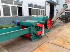China 7-10ton Electrical Wood Chipper/Wood Drum Chipper machine for low cost  good quality on sale