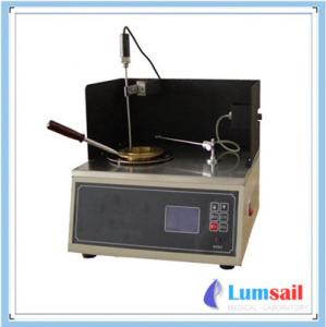 China LS-3536-1 Cleveland Open-Cup Flash Point Tester ASTM D92 on sale