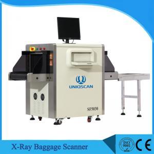 China Varredor alto da bagagem do aeroporto da carga, 5030C velocidade ajustável do transporte da máquina da bagagem X Ray on sale