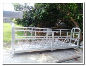 China Durable galvanized steel window cleaning cradle ZLP630 rope suspended platform on sale