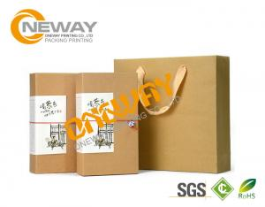 China Customized Size Corrugated Carton Square Gift Boxes For Dry Fruit Packing on sale