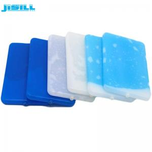 China Plastic Ultra Thin Ice Pack , Large Reusable Ice Packs For Lunch Box on sale