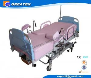 China Hydraulic Hospital Delivery Beds , Gynecology Electrical Obstetric Table on sale