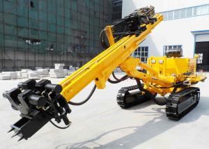 China Rotary Construction / Anchor Drilling Rig Crawler Mounted 150m Drilling Capacity on sale