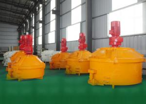 China Polyurethane Sleepers Industrial Concrete Mixer , Solid Waste Treatment Concrete Mixing Equipment on sale