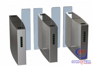 China Automatic Pedestrian Sliding Speed Gate Turnstile IP54 For Access Control System on sale
