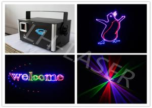 China Christmas30K RGB Laser Lighting , Laser Show Projector LH-1W RGB on sale