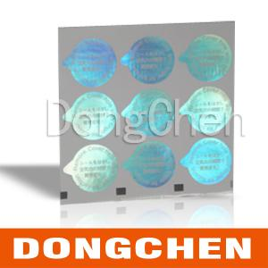 China 2013 High quality positioning hot stamping hologram stickers on sale