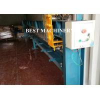 China Austria Seaming Lock Accessory Equipment Roller Door Roll Forming Machine Garage Door Line on sale