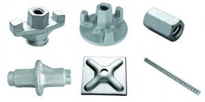 China Formwork accessories, wing nut, tie-rod, washer plate, water stop on sale