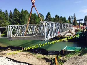 China Customized Steel Bailey Bridge Portable Modular Structural Steel Bridge on sale