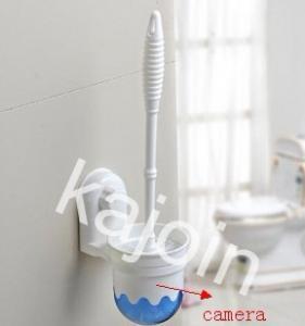 Kajoin Wireless Toilet Brush Bathroom Spy Camera For Sale Peeping