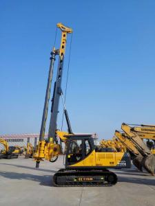 China Hydraulic Rotary Borehole Drilling Rig KR125A , Rotary Piling Rig on sale