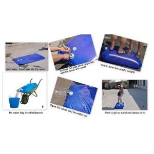 China Food-Grade PE Water Carrier Bag on Wheelbarrow for Water Transportation on sale