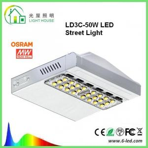 China Osram Meanwell Driver LED Street Light Lamp 160 LM / W Outdoor Street Lighting on sale