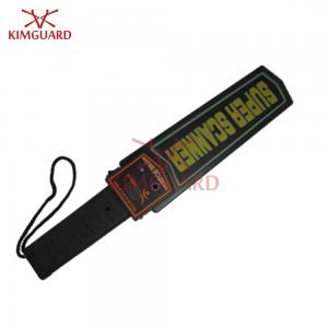 China Portable Metal Detector Wand 9V Fold Battery LED / Audio Alarm For Body Search MD3003B1 on sale