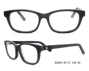 China Medical Acetate Eyewear Frame Demo Lens For Lady / Wood Frames on sale