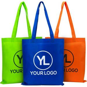 China Reusable Shopping Bags With LOGO Recyclable Custom Eco - Friendly Shopping Bag on sale