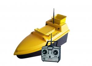 China DEVC-103 yellow Wireless fish finder for bait boat  ABS engineering plastic Material on sale