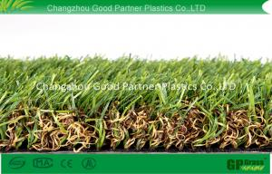 China Nature Looking Outdoor Artificial Grass Polyethylene Synthetic Grass Dtex 12000 on sale