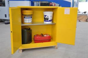 China Flammable Chemical Safety Storage Cabinets 22 Gallon With Single Door on sale