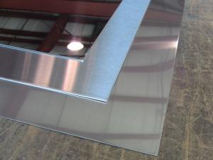 China stainless steel sheet, cold rolled, AISI-304,2B NO.4 HL mirror finish,size 1219x2438mm on sale