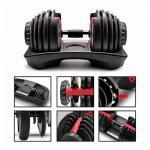 Adjustable Weights Dumbbells Set Gym Training Workout Dumbbell Barbell Sets