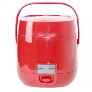 China 110V Mini Steam Rice Cooker Red Color  1.2L Small Capacity Stainless Steel Material on sale
