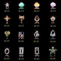 Rhinestones Nail Charms Flower Nail Art Decoration Nail Supplies Accessories ML1471-1486