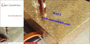 China PVC Table Cloth --RNPT Crystal lace table cloth ---Beautiful home decoration table cover on sale