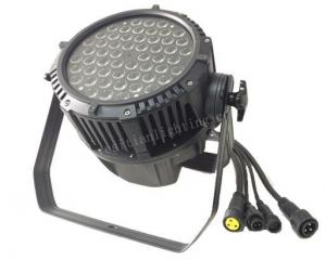 China High power 54x3W RGB Waterproof LED Par Can, Outdoor LED Stage Par Can Light on sale