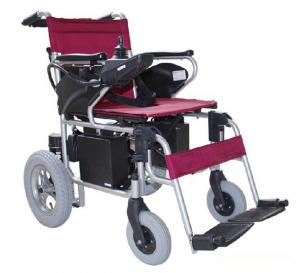 China High intensity aluminum frame folding power wheelchairs on sale