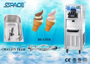 China Commercial Soft Serve Three Flavor Ice Cream Machine Easy Operation on sale