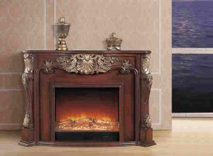Freestanding Fake Flame LED Electric Fireplace for sale – European Electric Fireplace manufacturer from china (103420884).