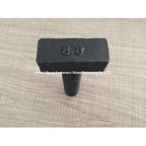 China Precise Black Steel Bolts / Stainless Steel Nuts And Bolts Stamping Process on sale