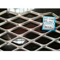 China Hot Dipped Galvanized Expanded metal Mesh With 2 mm Thickness And 18mm × 50mm on sale