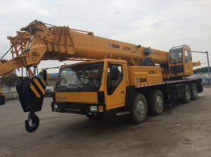 China Hydraulic Second Hand Truck Cranes XCMG 88s Luffing Time 40% Grade Ability on sale