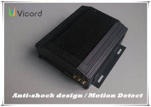China High Definition 8 Channel Mobile DVR HDD Recorder PTZ Motion For Bus on sale