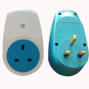 China UK WIFI wireless Cotrol socket adaptor, CE approved on sale