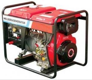 China sistema de generador diesel de la soldadura de 4KW 170A con el generador portátil on sale