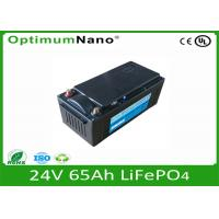 China Junp Starting 24V 65Ah Lifepo4 Battery Charger For Car / Bus LFP 32650 on sale