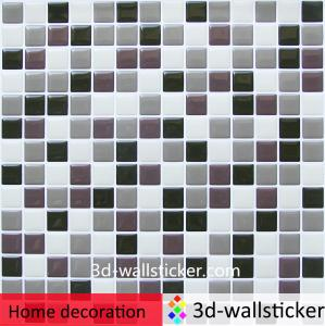China High gloss easy to install self stick vinyl wall tile for bathroom walls on sale