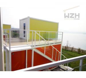 China Low cost interior design office solar power prefab flat pack container home house Flat Pack Container House on sale