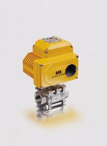 China 2 ajustables avanzan lentamente la vávula de bola eléctrica 3PC para el medio del corrosivo del ácido nítrico on sale