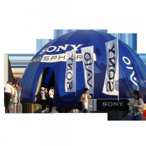 Quality Giant Multi Pillar Advertising inflatable wedding tent PVC water / fire proof for sale