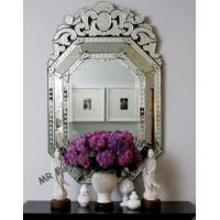 China Wall Octagonal Venetian Mirror , 60 * 2 * 97cm Size Long Venetian Mirror on sale