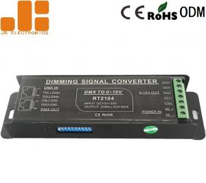 China Screwless Terminals PWM Signal Converter With 4 Channels Dip Switch DC15V - 30V on sale